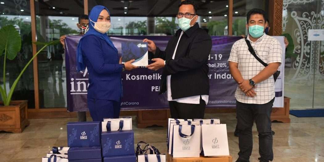 Perusahaan Kosmetik Bantu Hand Sanitizer Buat Tenaga Medis Aceh Herald